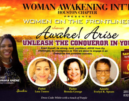 Women On The Frontlines: Unleash The Conqueror In You!
