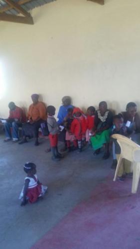 CHILDREN WERE ALSO SEEN BY THE MEDICAL TEAM